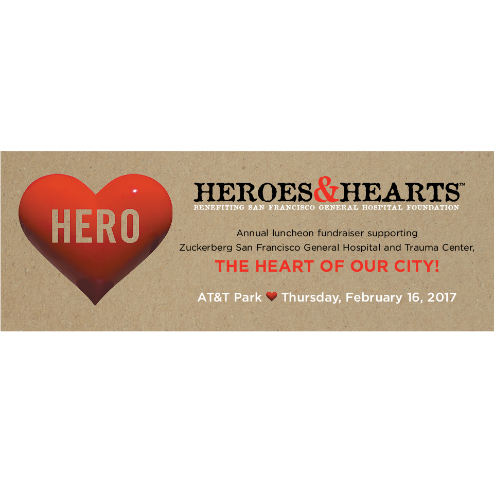 SFGHF Heroes and Hearts Luncheon