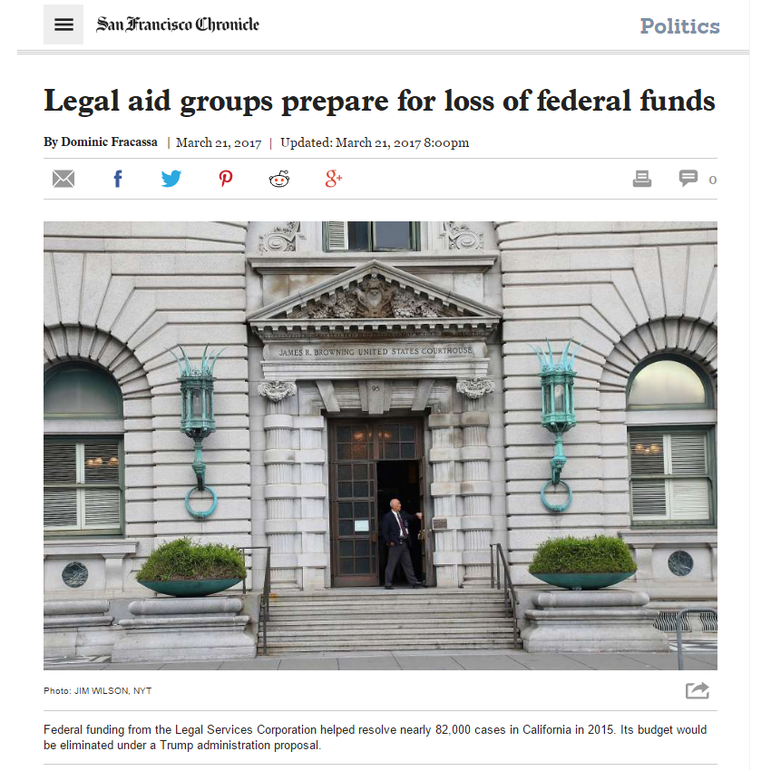 sf chronicle legal aid funding