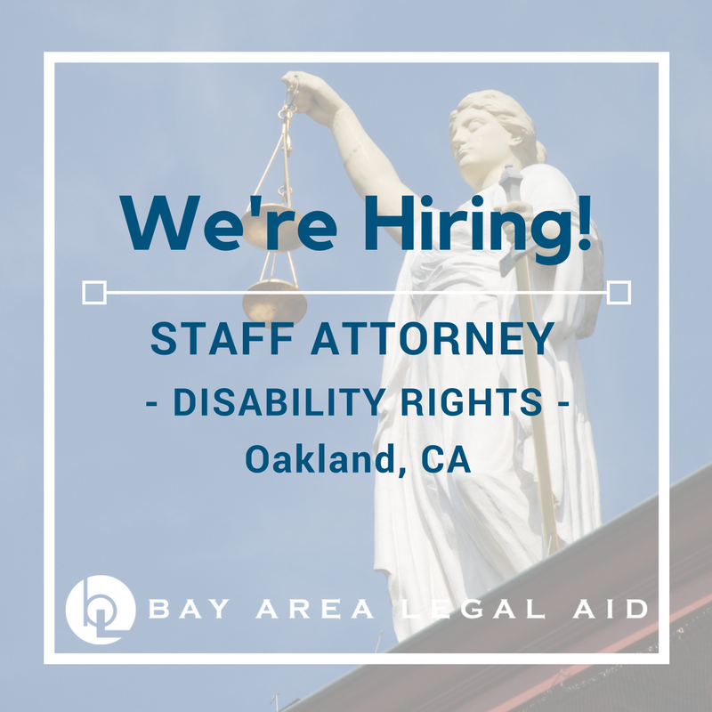 Disability Rights Staff Attorney