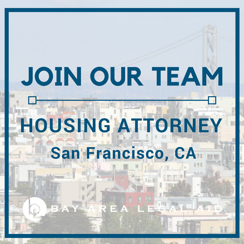 Housing Attorney - San Francisco