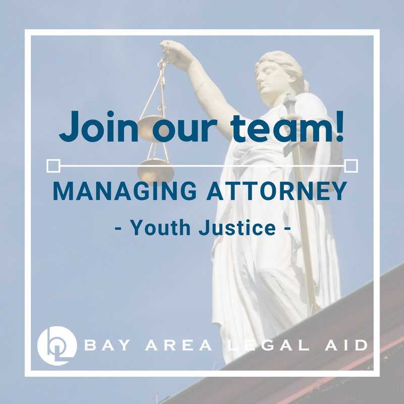 Regional Managing Attorney Youth Justice