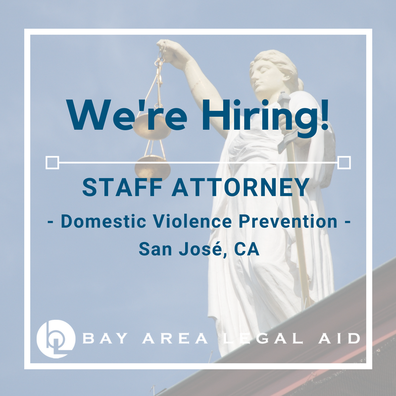 Staff Attorney - DV - Santa Clara County
