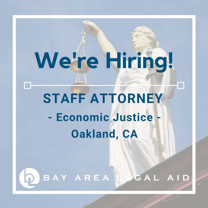 Staff Attorney - EJ - Alameda County