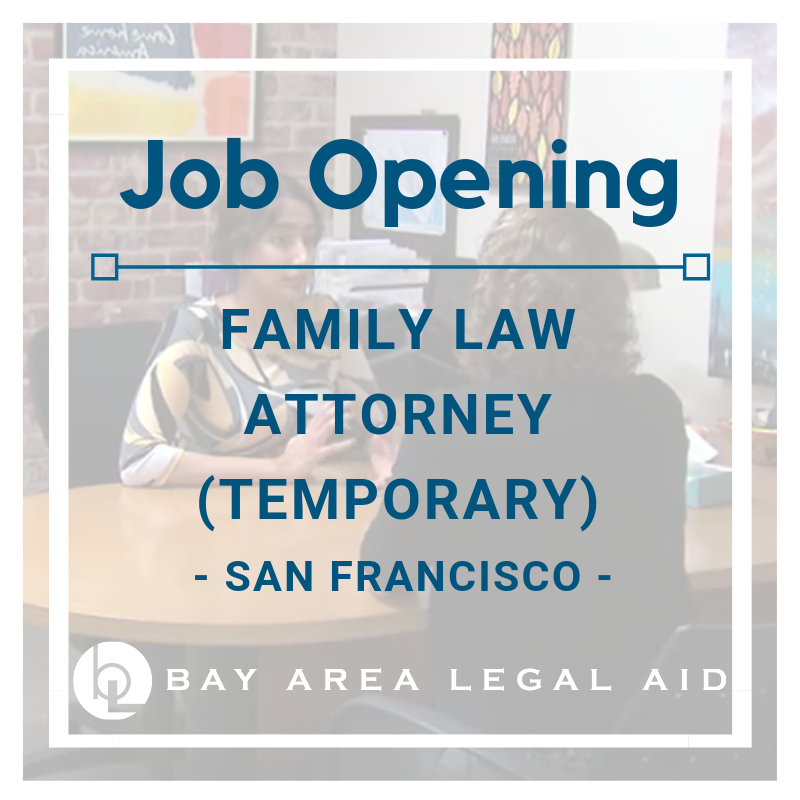 Temporary family law attorney graphic
